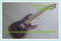 New Arrival Purple Quilted Finish 7 String Jackson Electric Guitar Lefty Custom Available For Sale