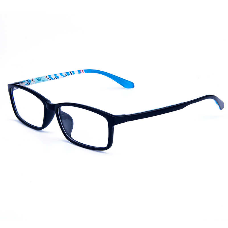 Gmei Optical Persegi Panjang Ultralight TR90 Penuh Rim Optik Kacamata Kacamata untuk Pria Wanita Miopia Presbyopic Resep Kacamata