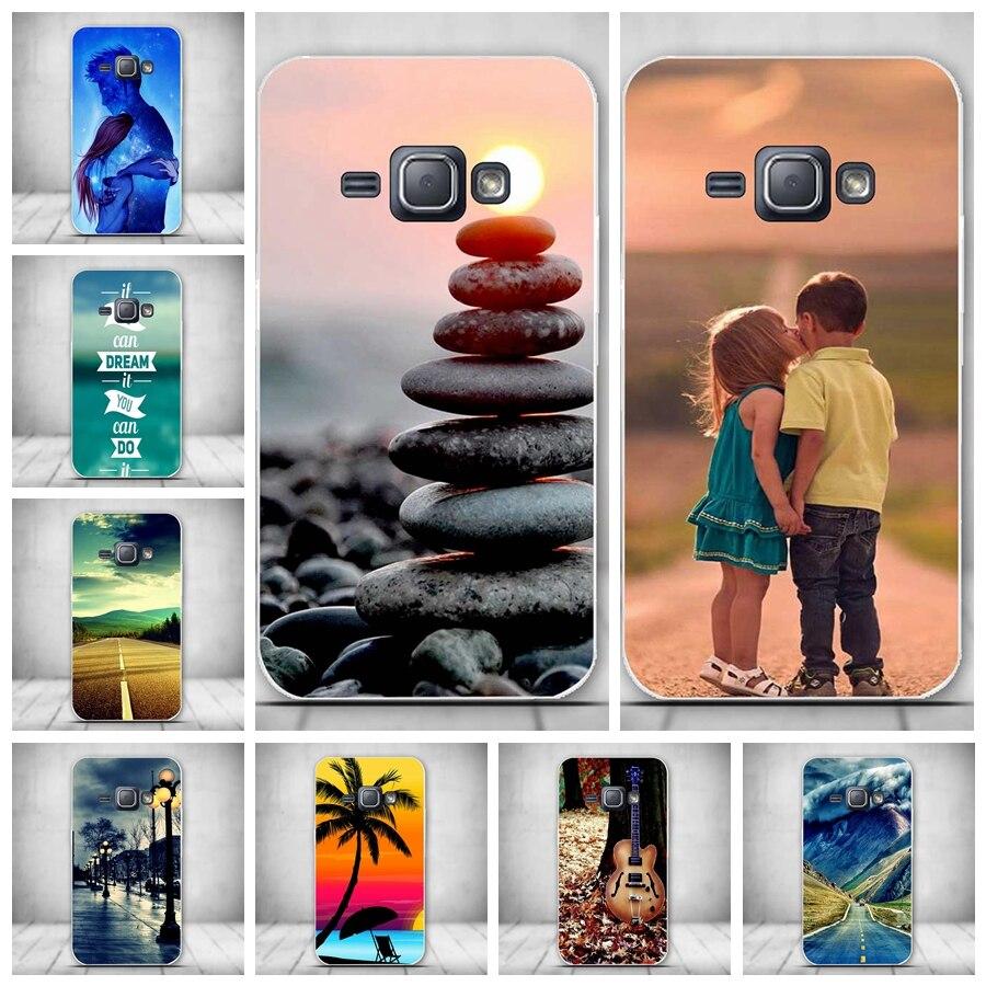 Fundas For Samsung J1 2016 J120F J120 Case Cover Soft Silicone Phone Cover Case Coque For Samsung Galaxy J1 (2016) SM-J120 Bag