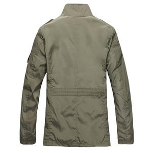 Image 5 - NaranjaSabor Fashion Thin Mens Jackets Hot Sell Casual Wear Comfort Windbreaker Autumn Overcoat Necessary Spring Men Coat N483