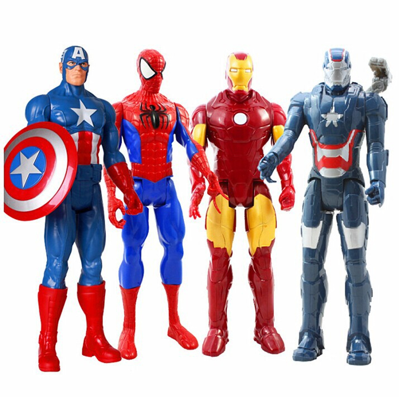 Best Super Hero Toys And Action Figures : Free shipping marvel heros captain america spiderman iron