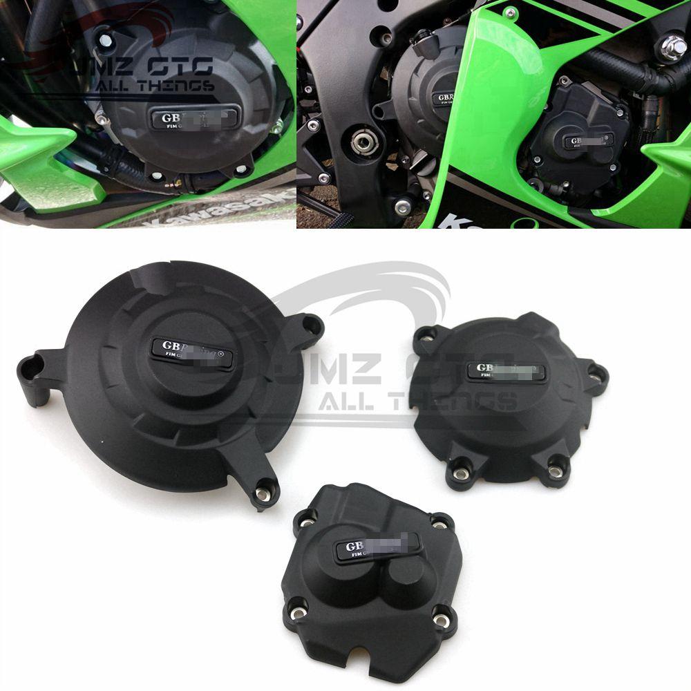 Housse de Protection pour moto pour boîtier GB Racing pour KAWASAKI ZX10R 2011-2012-2013-2014-2015-2016-2017-2018-2019--