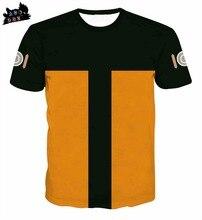 AC DBZ2018 new men s t shirt cartoon font b anime b font Naruto Dragon Ball