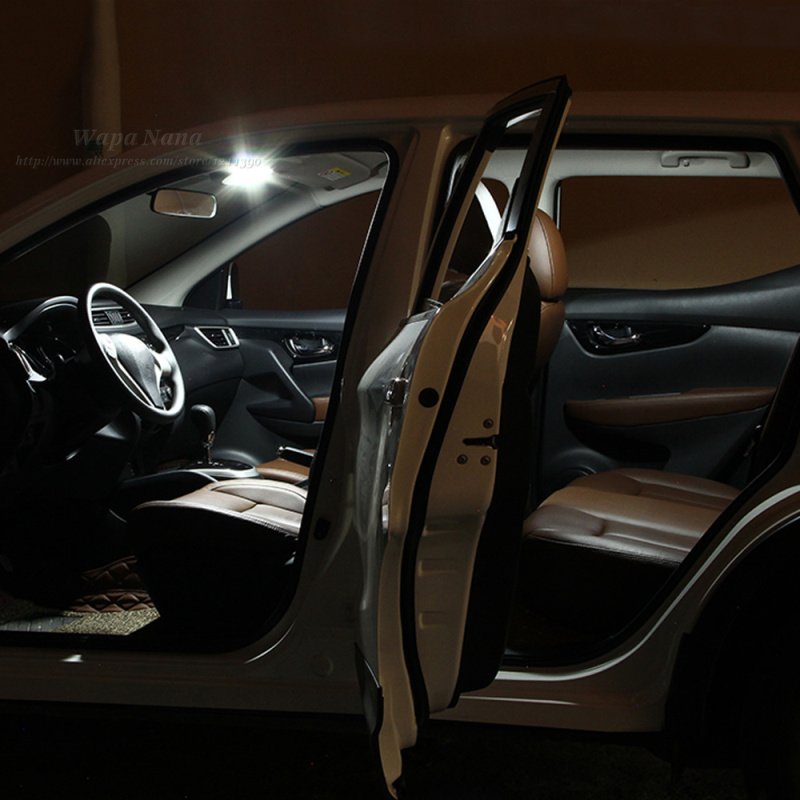 car interior led reading lamp decoration accessories for nissan qashqai on. Black Bedroom Furniture Sets. Home Design Ideas