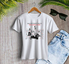 The Backstreet Boys DNA Tour 2019 Concert Crop Tee Women Top shirt Sleeve T Shirt Summer Men Tops Clothing