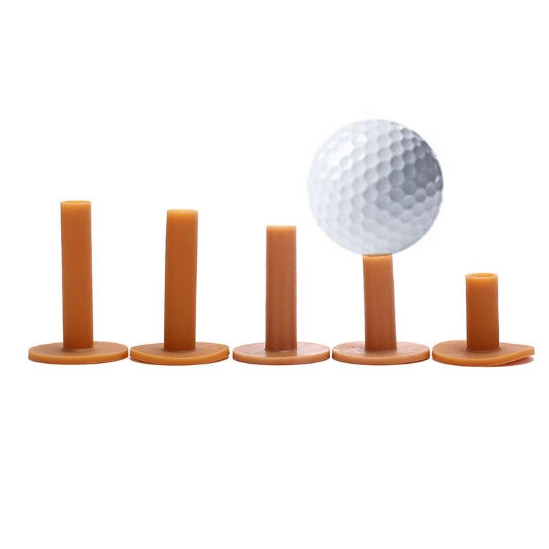 43/54/70/80/83mm Rubber Golf Tee Holder Training Practice Tee Mat Golves Ball Hole Holders Beginner Trainer Practice