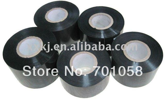 ribbon tape Black color 30mm*100M   black print Batch-number/Code/EXP