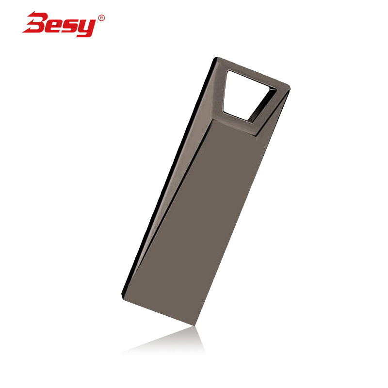 New usb flash drive 32GB flash memory 2.0 high speed pen drive 4gb 8gb 16gb 64gb 128gb pendrive metal stick(China)