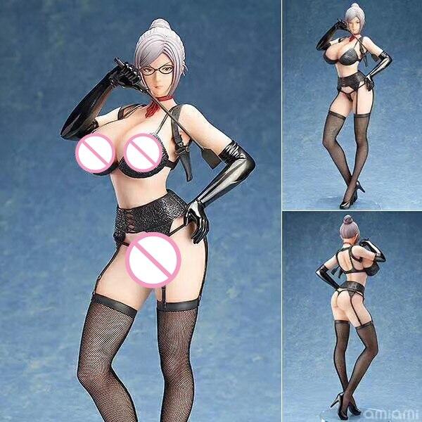 Hot Meiko Shiraki Stockings Comic Anime Shalleen Prison School Super Sexy 1/4 Scale Figurine Figure anime prison school sexy girls meiko shiraki collection figure toy mv081004 free shipping