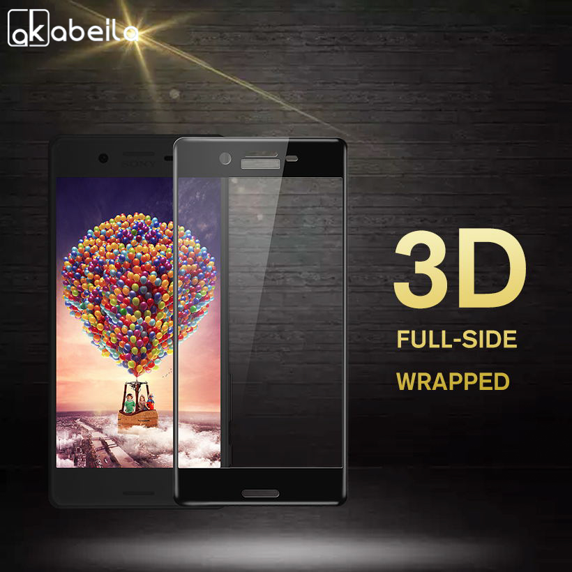 Akabeila Phone Screen Protector Film For Sony Xperia X Performance Tempered Glass F8132 F8131 XP Glass