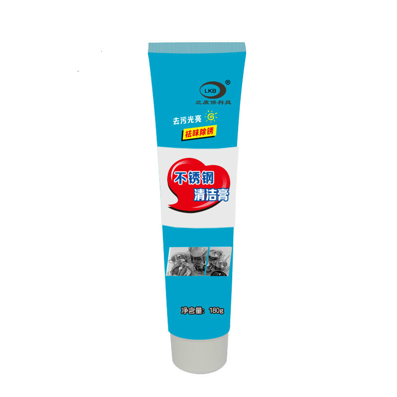Stainless steel cleaning paste ceramic pot with bottom scorch strength to remove rust and clean the brightener