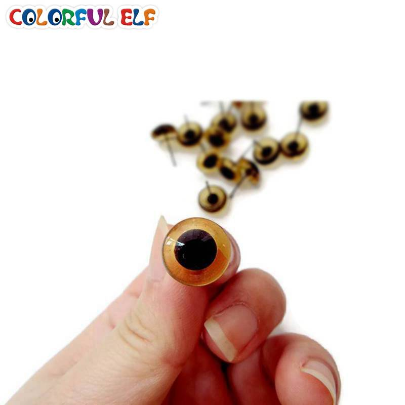 Free Shipping Brown Color Glass eyes 100ps 3mm 12mm Wholesale Glass ...