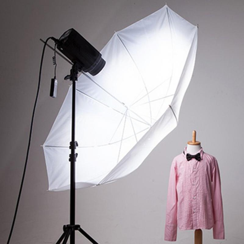 New 33in 83cm Photo Studio Flash Translucent White Soft Umbrella Photo Studio Accessories