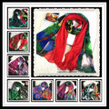 Brand New Women Desigues Scarf Spain Scarves Big Shawl Beach Colorful Wrap