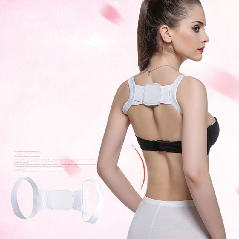 Upper Back Posture Corrector Clavicle Support Belt Back Slouching Corrective Posture Correction Braces Foot Care Tool