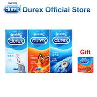 Buy 3 get 1 gift Durex Condoms Utra Thin Super Safe Adult Products Condoms Penis Sleeve Sex Toys Erotic Products Intimate Goods
