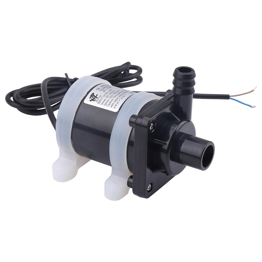 High Flow Rate High Lift Water Pump 12V 24V 900L/H Max Submersible Pump Waterproof Mini Electric Water Pump 12 V 12vdc