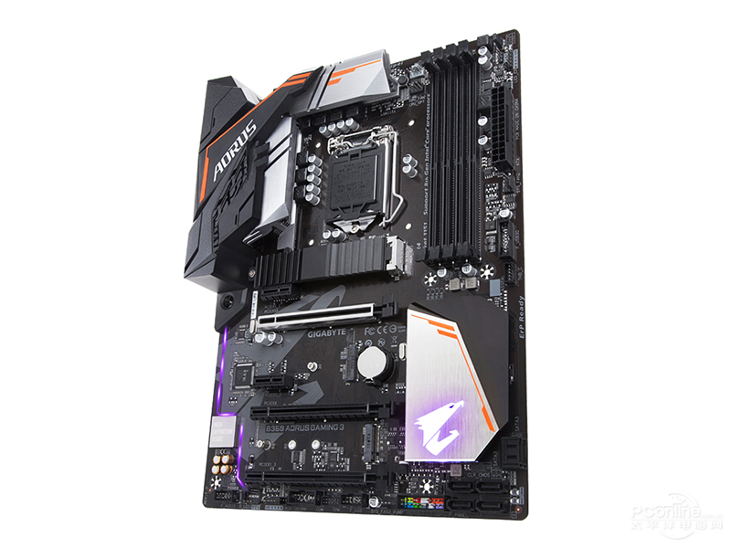 New Original Motherboard Gigabyte B360 AORUS GAMING 3   LGA 1151 DDR4  B360  Desktop  E-sports Game Computer Motherboards