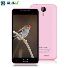 "IRULU BV2000 Blackview 4G LTE 5.0 ""HD IPS 720 P MTK6735 Smartphone Android 5.1 Quad Core 1 GB + 8 GB ROM Teléfono Celular Móvil"