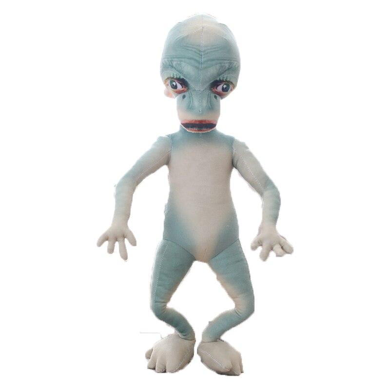 Poupées en peluche extraterrestre en forme de peluche ET en forme de peluche extraterrestre pour les amateurs de science-fiction