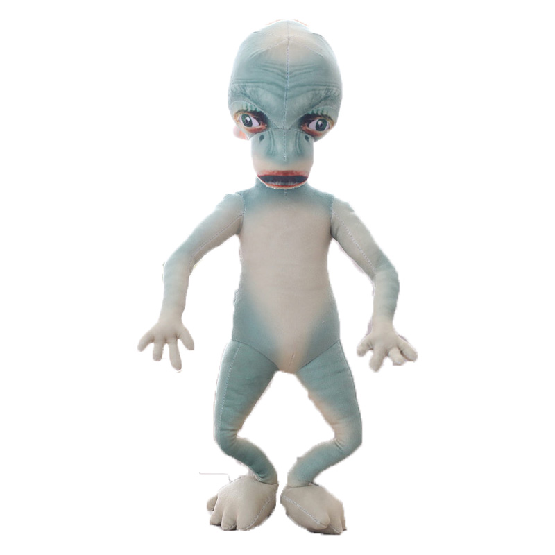 Extraterrestrial Being ET Shaped Soft Toys Stuffed Alien Plush Dolls For Science Fiction Lovers Collection With Skinny Arms Legs