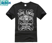 2018 Summer Casual Man T Shirt Doctor Who Time Lord's Tardis Men's Women's T-Shirt Hot Sale Casual Clothing свитшот print bar tardis time