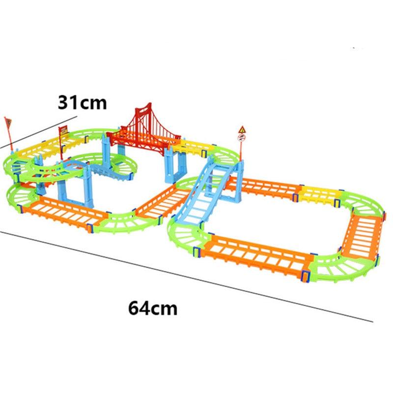 DIY-Track-Electric-Rail-Car-Model-Set-Gift-For-Kids-1