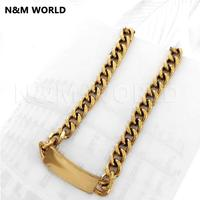 Brand 2019 Fashion Luxury Metal Letter Chain Necklace Classic Design For Woman Necklace Luxury Jewelry Female Gift