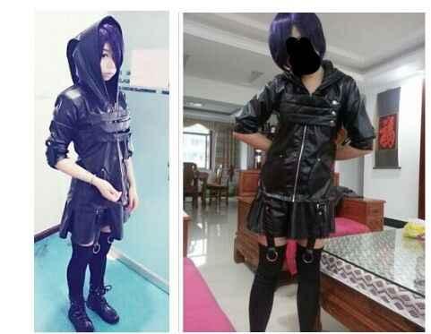 Аниме «Токийский Гуль тоука киришима toka черная военная одежда костюм для косплея Сделано