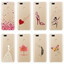 Чехол для телефона Xiaomi MiA1 MIA2 Mi8 Heart Girl, мягкий силиконовый чехол-накладка для Xiaomi Mi A1 A2 Lite 8 SE 5 5C 5S 5X 6 6X Plus