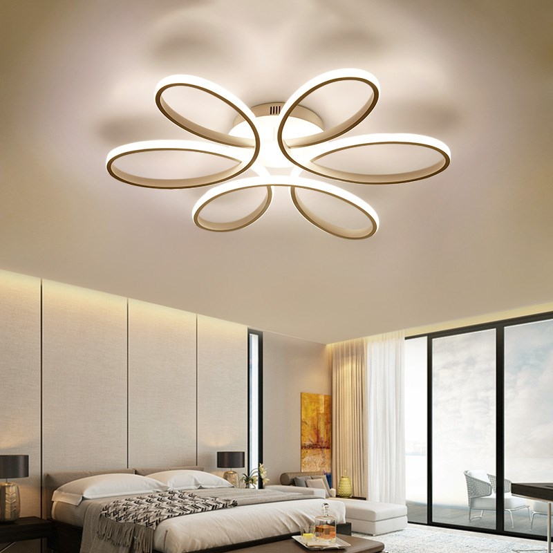Simple Modern Led Chandelier light Fixture led Plafondlamp For Living Room Dining Room Bed Room Kitchen Acrylic plafonnier Led modern led chandelier light fixture for living room bed room kitchen led ceiling lamp plafon acrylic luminaire 5cm ultra thin