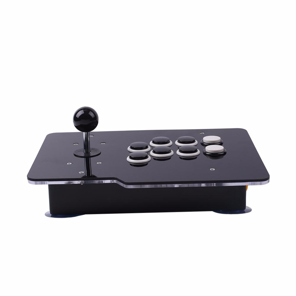 Arcade Joystick Gamepads USB Controller 8 Directional Buttons Zero Delay Rocker Wired For PC Android popular