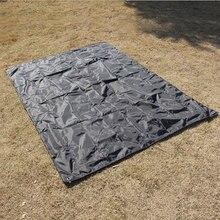 Oxford PU coating multifunctional mat Outdoor camping picnic mat moisture-proof crawling mat thick Tent pad waterproof