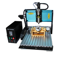 JFT Best Quality Parallel Port mini CNC Engraving Machine 6040 2200W Spindle Motor 5 Axis CNC Router