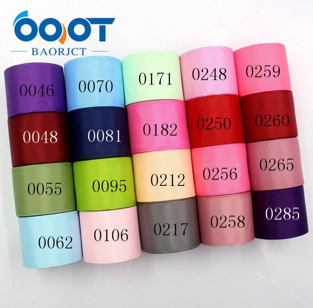 Однотонные ленты OOOT BAORJCT 181015-L38mm-2,38 мм, 10 ярдов, термопереводная печать, материалы ручной работы для одежды