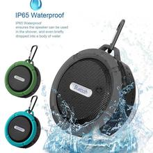 Portable Waterproof Bluetooth Speaker Outdoor Shower Mini Wireless High Quality Computer Mobile Phone Speaker Support TF Card