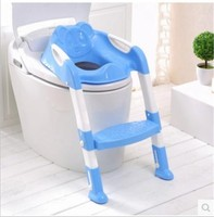 Baby Toilet Seat Ladder Children Toilet Seat High Chair Folding Potty Infant Chair Toilet Seat Ladder for Children