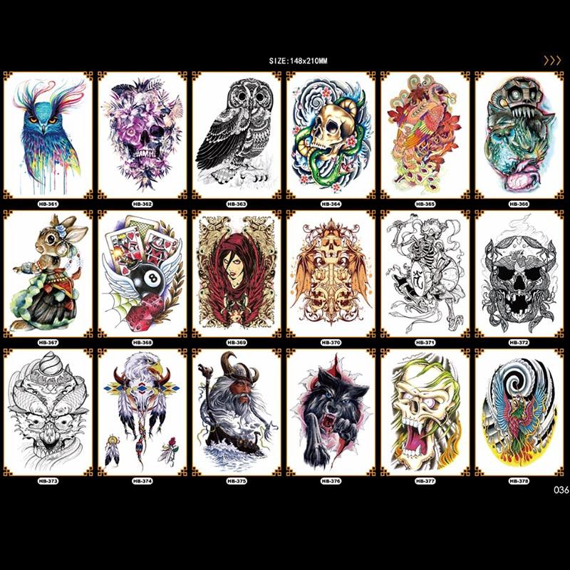 fácil de pegar cruel hombres tatuaje largo y largo brazo arte - Tatuaje y arte corporal - foto 1