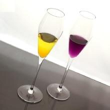 Новая эра с бокалом шампанского BESTIE пузырь стеклянный бокал Красного вина хрусталя Свадебные KTV