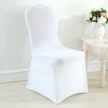 chair cover wedding & stretch covers universal spandex 100 pcs Free Shipping
