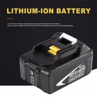 New Portable 18V Rechargeable Battery 6AH 6000 MAh Li Ion Battery Replacement Power Tool Battery