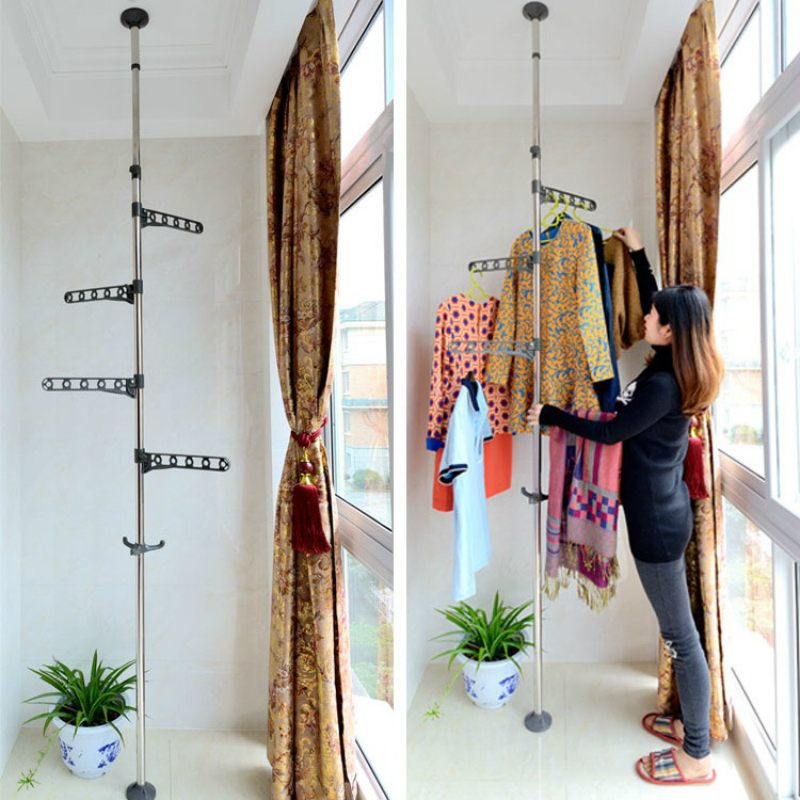 서있는 유형 의류 걸이로 건조시키는 천장 외투 - 가구 - 사진 3