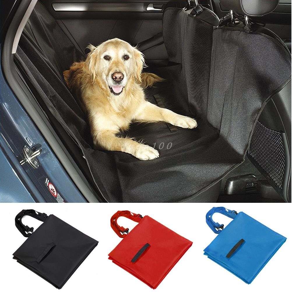 Pet Dog Car Seat Cover for Rear Bench Seat Waterproof Hammock Style Outdoor Car Seat Cover for Dogs ...