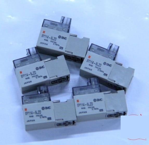 BRAND NEW JAPAN SMC GENUINE VALVE SY114-5LZD brand new japan smc genuine valve sy3320 5lzd c6