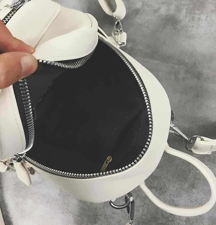 d7874356b5 ... School Backpacks 2018 Fashion New Women Mini Backpack High quality PU  Leather Women Shoulder Bags Simple