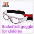 Niños Moda Gafas Deportivas de Fútbol Baloncesto Gafas Esportes ao ar Livre gafas de Basquete Protecao Párr Crianças DD0250