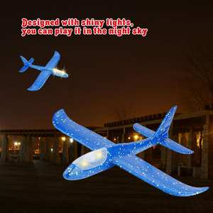 YOSOO Foam Glider Plane Kids Gift Toys Airplane Model