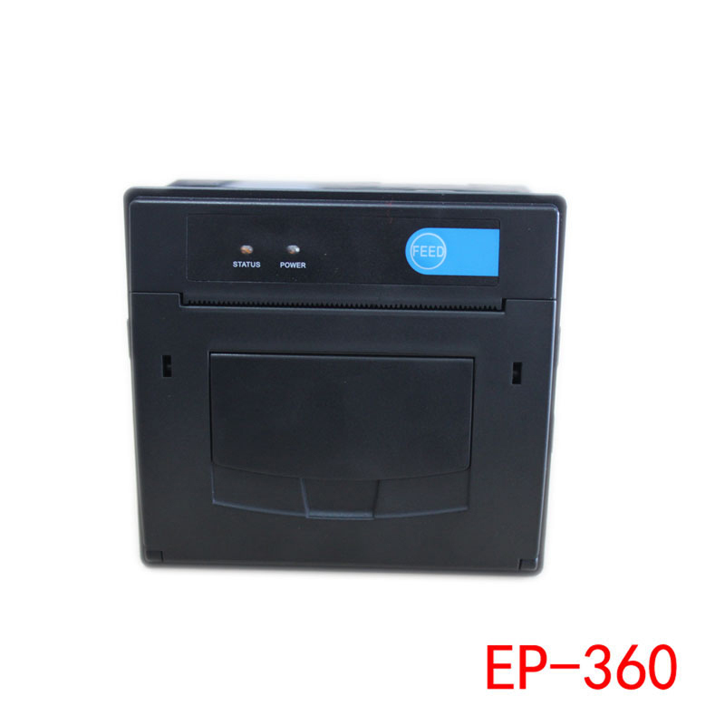 80mm thermal Panel Printer with TTL, RS232, mini usb port embedded thermal receipt printer for POS, ATM e488 thermal panel printer with serial interface mini pos printer embedded printing machine