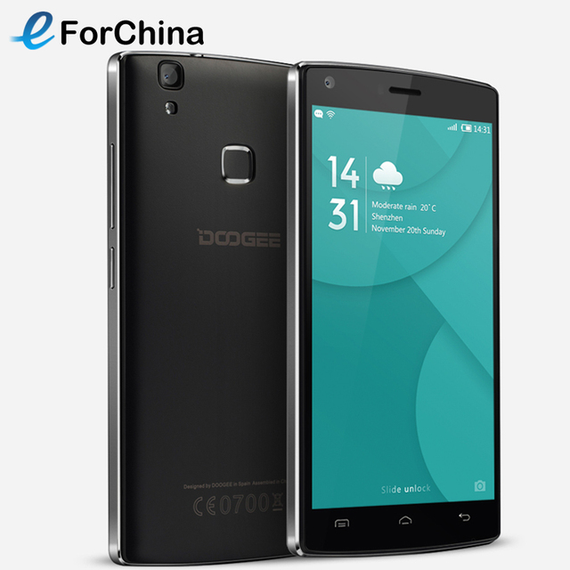 Original DOOGEE X5 MAX Pro 16GB ROM 2GB RAM Smartphone MTK6737 Quad Core 1.3GHz 5.0 inch Android 6.0 Phone 4G FDD-LTE OTG