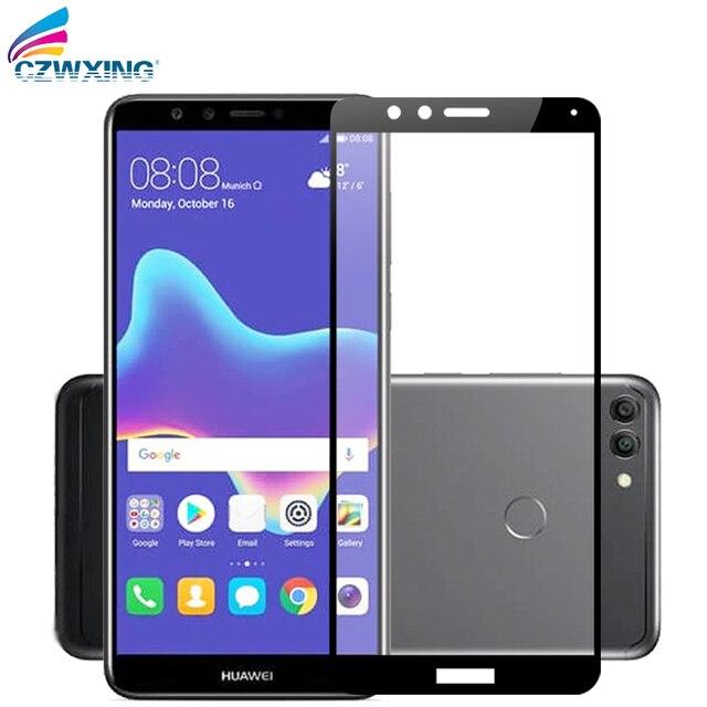 4f2a8d4ec22 Protector de pantalla para Huawei Y9 2018 vidrio templado Huawei Y9 2018  vidrio Protector de pantalla